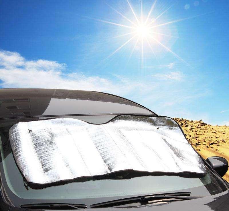 夏天来了朋友们你们的车是用什么防晒的啊