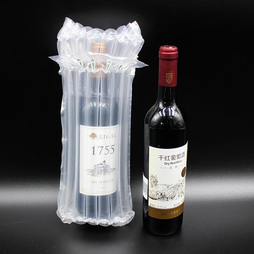 法国葡萄酒运输包装材料防震气泡柱