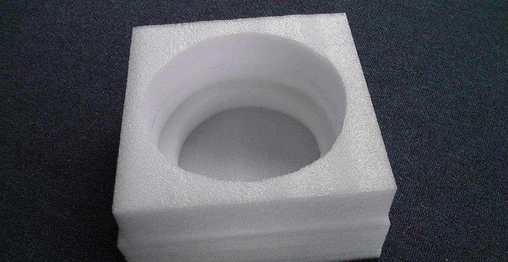 珍珠棉厂家供应 异形珍珠棉面板灯内托包装 规格可定做