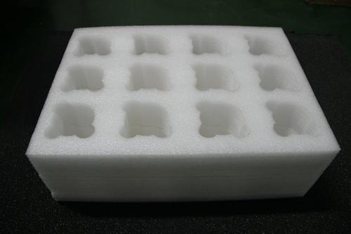 厂家定制玻璃制品包装 珍珠棉板材异形加工 佛山珍珠棉
