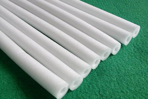 佛山白色珍珠棉异形包装 epe管材圆形高密度防震珍珠棉包装